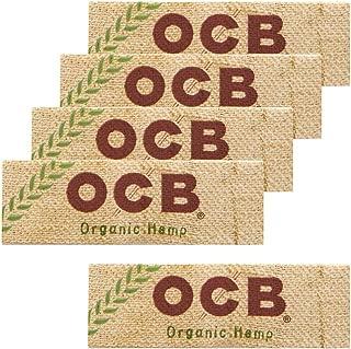 柘製作所(tsuge) OCB オーガニック シングル 【スローバーニング ・ 50枚入り】 ×5パック #78885