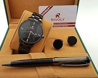 Rivoli Dress Watch For Men Analog Stainless Steel - 251