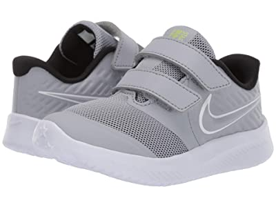 Nike Kids Star Runner 2 (Infant/Toddler) (Cool Grey) Boys Shoes