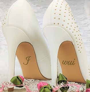 """Schuhsticker""""I wui"""" - 13 Farben wählbar - Hochzeit Schuhaufkleber Farbe wählbar - Aufkleber für Schuhe"""