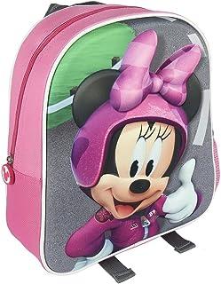 Mochila Infantil 3D Mickey Roadster