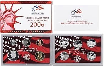 2006 S US Mint Silver Proof Set