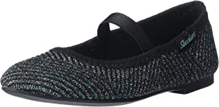 Skechers Unisex-Child Fashion Casual, Mary Jane, Ballet Flat