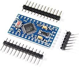 IZOKEE Nuevo Dise/ño Pro Mini ATMEGA328P 5V 16MHz M/ódulo Placa de Desarrollo Reemplazar ATmega128 Microcontrolador para Arduino Pro 3 x Nuevo Dise/ño 5V 16MHz