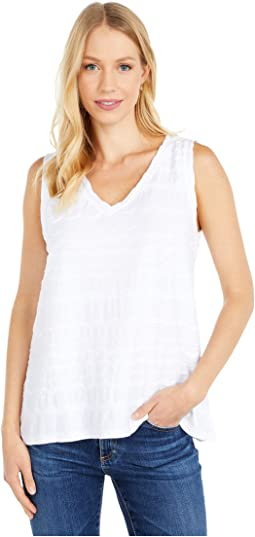 Ocean Waves Jersey V-Neck Swingy Tank