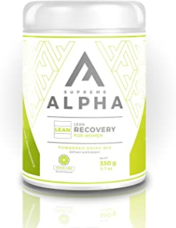Supreme Alpha Lean, Post Workout Recovery Supplement for Women, BCAAs, 15 Large Servings