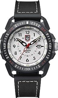 Luminox Men's Wrist Watch Ice-SAR Arctic 1007: 46mm White Display Stainless Steel Case 200 M Water Resistant