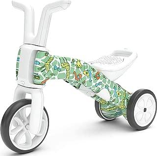 Chillafish BUNZI FAD Edition: 2-in-1 Gradual Balance Bike and Tricycle, Giraffiti