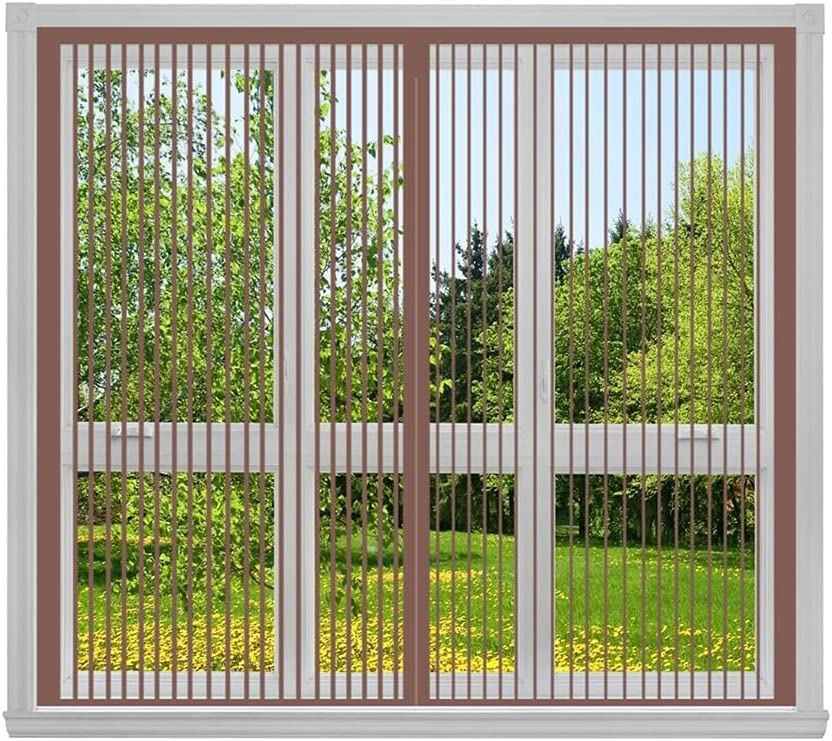 GAIJUAN Window Screen 110x130cm Price reduction Adjustable 43x51inch NEW before selling ☆ Fly