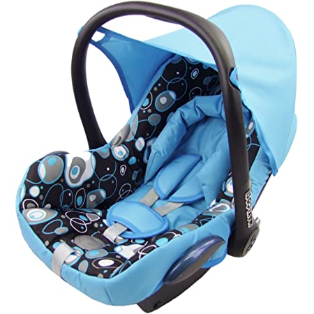 Bambiniwelt Ersatzbezug Für Maxi Cosi Cabrio Fix 6 Tlg Bezug Für Babyschale Sommerbezug Pistazien GrÜne Punkte Baby