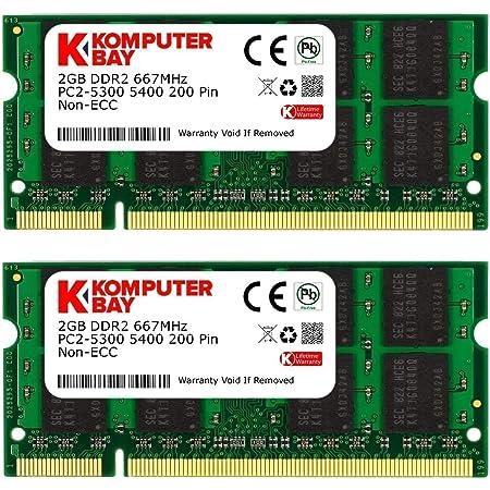 Komputerbay Arbeitsspeicher 4gb 2x2gb Ddr2 667mhz Computer Zubehör