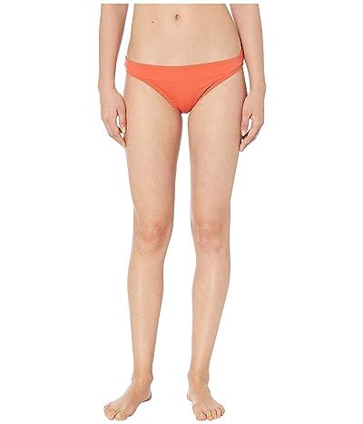 Vince Camuto Riviera Solids Classic Bikini Bottoms (Persimmon) Women
