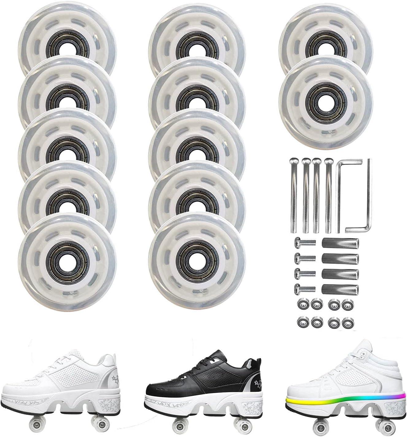Roller Skate [Alternative dealer] Wheels with Outdoor Installed- Complete Free Shipping Ska Bearings