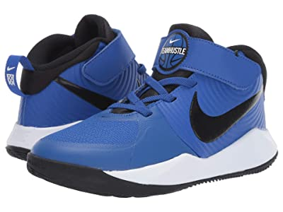 Nike Kids Team Hustle D 9 (Little Kid) (Game Royal/Black/White) Kids Shoes