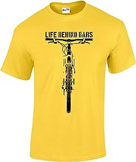 Men's Life Behind Bars Tee - MTB Mountain Biking T Shirt