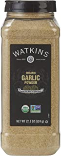 Watkins Gourmet Spice, Organic Garlic Powder, 22.0 oz. Bottle, 1 Count (21808)