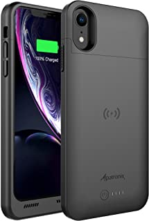 Alpatronix iPhone XR Battery Case, 5000mAh Slim Portable Protective Extended Charger..