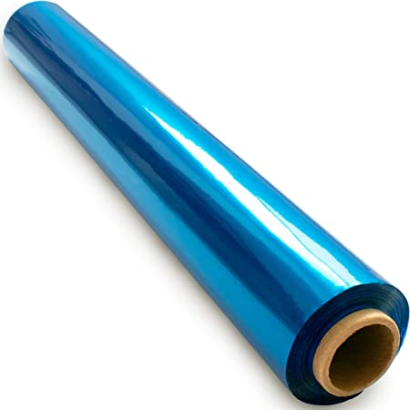 Oasis Supply 40 in x 100 ft Clear Cello Wrap Cellophane Roll
