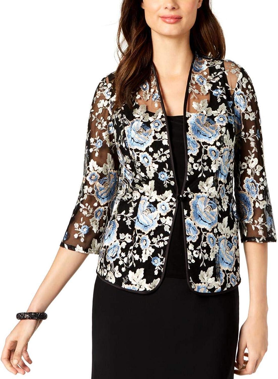 Alex Evenings Womens Petites 2PC Lace Jacket