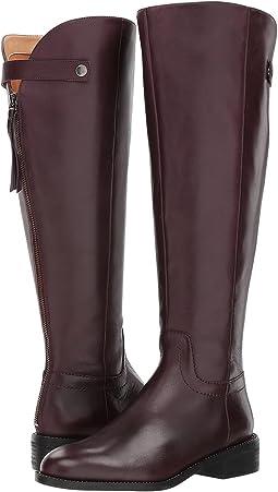 Dark Burgundy Bally Leather