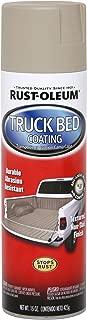 Rust-Oleum Automotive 253438 15-Ounce Truck Bed Coating Spray, Tan