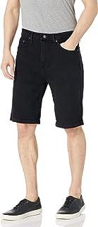 سروال جينز رجالي كلاسيكي ملائم ومريح من Wrangler Authentics من خمسة جيوب، أسود داكن، 30