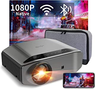 "WiFi Bluetooth Projector Support 4K, Artlii Energon 2 Full HD Native 1080P Outdoor Projector, 340 ANSI Lumen 300"" Display,..."