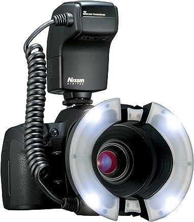 NISSIN 日清 MF-18环闪(尼康口) 环形微距闪光灯 (黑色)