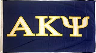 Alpha Kappa Psi Letter Fraternity Flag 3 Foot x 5 Foot Banner Greek Letter Sign Decor AKPsi