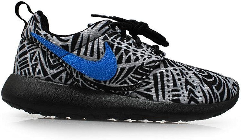 Nike Gradeschool Rosherun Print (GS) Wolf grau schwarz Weiß Photo Blau 6777782-005