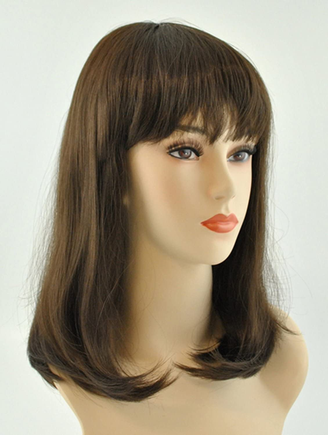 service Lacey Wigs Memphis Mall Long Brown Costume Wig