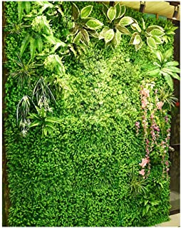 LIYONG Verdure Artificielle Herbe Plante Murale Panneaux muraux DIY Micro Paysage Feuillage décor Floral (Size : 4m²)