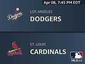 Los Angeles Dodgers at St. Louis Cardinals