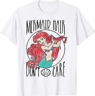 Little Mermaid Ariel Mermaid Hair Don't Care T-Shirt