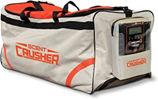 Scent Crusher Roller Bag with Ozone Generator - Destroys Odors within 30 mins., Heavy Duty Wheels, 9