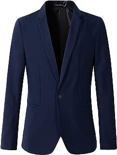 Beninos Men's Casual 1 Button Slim Fit Blazer Jacket Sport Coat