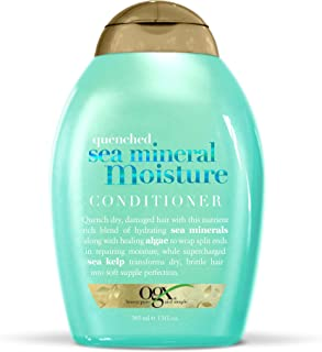OGX Quenched Sea Mineral Moisture Conditioner, 13 Ounce