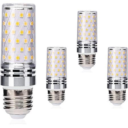 Brantoo E27 LED Blé Ampoules 12W Équivalent à 100W Halogène Ampoules, Blanc chaud 3000K, 1400LM, Edison Vis LED Lumière Ampoules, Pas de scintillement, non dimmable, CA 175-265V, paquet de 4