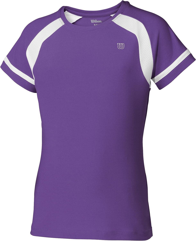 WILSON Kinder Tennisshirt Junior Shortsleeve Crew
