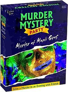 University Games Murder Mystery Party, Murder at Mardi Gras