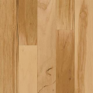 Bruce Hickory Rustic Natural 3/8 in.Thick x 3 in.Wide Random Length Engineered Click Lock Hardwood Flooring (22 sq. ft./case)