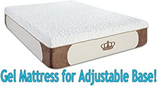 DynastyMattress Cool Breeze 12-Inch  HD GEL Memory Foam Mattress, Queen