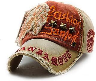 Glennoky キャップ 帽子 ハット ユニセックス 英字 刺繍 おしゃれ 野球帽 バックキャップ ベースボールキャップ 団体活動 カウボーイ ヒップホップ ストリート スポーツ ワークキャップ カーブキャップ メンズ レディース 男女兼用