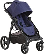 Baby Jogger City Premier Stroller | Baby Stroller with Reversible Seat, 5 Riding Options | Quick Fold Lightweight Stroller, Indigo