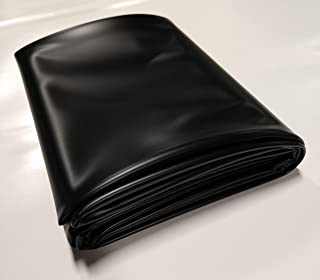 USA Pond Products - 4' x 6' Pond Liner - 20-mil Black PVC for Koi Ponds, Streams Fountains and Water Gardens