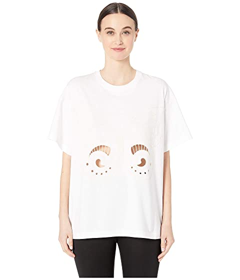 See by Chloe Butterfly Cut Out Crew Neck T-Shirt