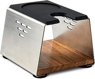 Elegant manipuleringsstation för baristan – tryckstation för portafilterhållaren (51–58 mm) tillverkad av rostfritt stål o...