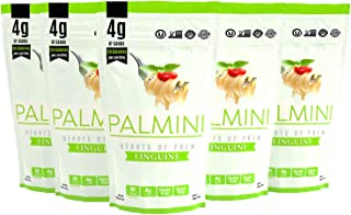 Palmini Low Carb Pasta | 4g of Carbs | As Seen On Shark Tank | 12 Oz. Pouch (6 Unit Case)