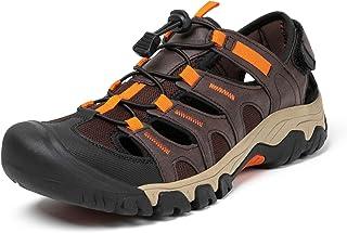 Men's Sports Sandal Closed Toe Outdoor Walking Hiking Shoes