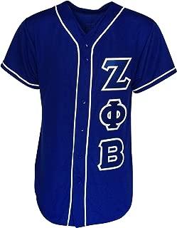 Mega Greek Womens Zeta Phi Beta Baseball Jersey